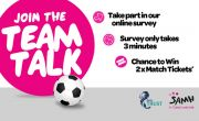 Be part of our #TeamTalk