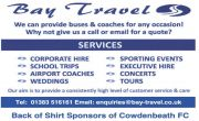Shirt Sponsors 2019/20 - Bay Travel