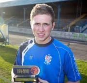 Irn-Bru award for Greg