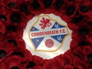 Cowdenbeath FC Remembrance Sunday